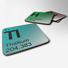 Periodic Table Coaster - Choose Your Element - Chemistry Geek