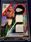 🏈2017 Unparalleled Patrick Mahomes Rookie Dual Jersey Patch #93/199 OPY & MVP🏆