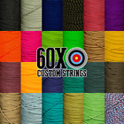 Внешний вид - 3', 5', 10' BCY #24 D Loop Material Archery Choice Of Color