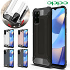 Oppo A91 A9 A5 2020 Ax7 Deluxe Shock-absorbers Hybrid Dual Layer Case Tpu Cover