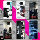 SUITS 6 SPECTER ROSS DONNA THIN PHONE case cover SAMSUNG S7 S8 S9 S10 S10+ S10E