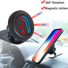 Magnetic Securely Hold Car Mount Holder Stand Cradle for iPhone X Samsung S8 S9