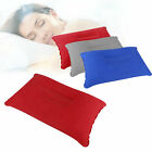 Camping Pillow Inflatable Fabric Feel Head Cushion Air Travel Hiking Lightweight