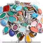 Labradorite & Mixed Gemstone Wholesale Lot 925 Sterling Silver Plated Pendant image
