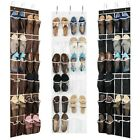 Внешний вид - Over the Door Shoe Organizer - 24 Wide Pockets, Hanging Shoe Holder