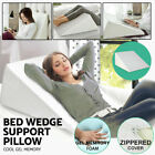 US Memory Foam Wedge Support Pillow Body Positioner Elevate Lumbar Neck Support