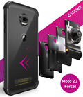 Motorola Moto Z2 Force Protective Bumper Case Cover/ Compatible With Moto Mods