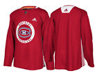 Montreal Canadiens Adidas Authentic Red Player Practice Jersey $89.99 USD on eBay