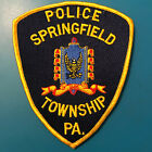 Springfield Pennsylvania Police Patch
