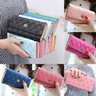 Women Ladies Clutch Leather Wallet Long Card Holder Phone Bag Case Purse Handbag image