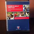 Learn to Rally and Play: Practice Plans and Tips for Coaching Kids Ages - Tennis