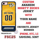 Nashville Predators Personalized Hockey Jersey Phone Case Cover for iPhone etc. $19.98 USD on eBay