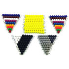 Colorful Bead Checker Board Mathematics Subtract Game Education Kids Toy CA Call