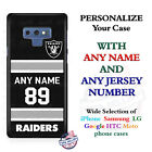 Oakland Raiders A18 Personalized Football Phone Case Cover Fits Samsung LG etc. $25.98 USD on eBay