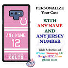 Indianapolis ColtsPINK Personalized Football Phone Case Cover fits Samsung etc. $25.98 USD on eBay