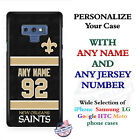 New Orleans SaintsA18 Personalized Football Phone Case Cover Fits Samsung etc. $27.98 USD on eBay