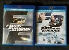 Fast and Furious 7-movie collection + The Fate of the Furious Blu-ray 8- movies