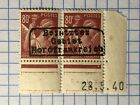 GERMANY NORTH FRANCE WWII-GERMAN OCCUPATION 80 c.  pair MNH