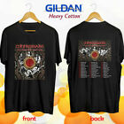 New Whitesnake the Flesh and Blood tour concert 2019 Size S To 2XL