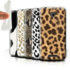 STUFF4 Gel/TPU Phone Case for HTC Desire 510 /Fashion Animal Print Pattern