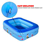 Pig Pattern Design Inflatable Pool Double Inflatable Mouth For Child
