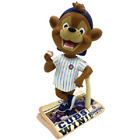 Clark the Cub Chicago Cubs 2016 World Series Newspaper Base Bobblehead MLB