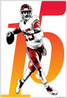 Patrick Mahomes Kansas City Chiefs - 13x19 Football Art Poster KC Royals Kingdom on eBay