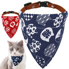 Bandana-Style Small Dog Collar Cat Puppy Neck Scarf Neckerchief for Teacup dogs