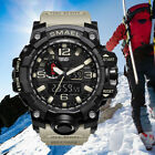 SMAEL Men's Military LED Digital Analog Chrono Tactical Shock Sport Quartz Watch image
