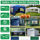 3x3m 3x4m 3x6m Canopy Instant Shelter Outdoor Party Tent Gazebo Anti-UV