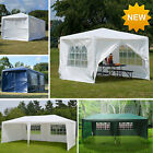 Canopy Wedding Party Tent Gazebo Pavilion with 4 or 6 Walls Cover Outdoor NEW
