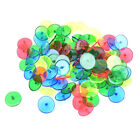 Golf Ball Markers 50 100Pack Plastic Golf Accessories Plastic Mixed Colors AU