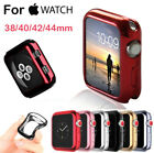 For A pple Watch Series 4 3 2 1 iWatch 38/42/40/44 Soft TPU Plating Bumper Case