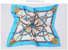 Woman Silky Scarf 90*90cm Square Satinish Scarves For Women Head Scarf