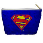 SUPERMAN GALVANIZED SHIELD LIGHTWEIGHT ACCESSORY POUCH