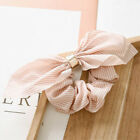 New Women Hair Ties Scrunchie Accessories Elastic Rope Bow Scarf Hair Band