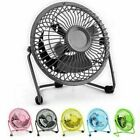 Mini Table Desk Fan USB Powered Portable Desktop Air Cooling Fan For Computer PC