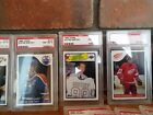 NHL Trading Crads PSA Authenticated - set of 25
