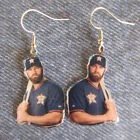 Houston Astros Evan Gattis Earrings on Ebay