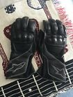 Alpinesstars SP-8 Leather Motorcycle Gloves Black Size M