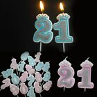 Cake Decoration Creative Number Candles 0-9 For Kids Adult Birthday Party Supply