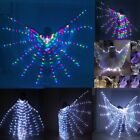 NEW LED Fairy wings Light isis wings belly dance cosplay glow show light costume
