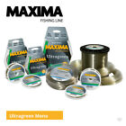 Maxima Ultragreen Mainline - Carp Pike Cod Coarse Sea Fishing Monofilament Line