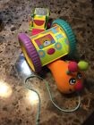 Tiny Love Caterpillar PULL TOY Activity Vibrant Colors Educational Baby Toy