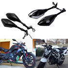 For Kawasaki Z1000/900/750 ER6N LED Turn Signals Side Mirror 8mm 10mm 3 Style MP $34.55 USD on eBay