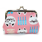 New Women Girl Printing Leather Wallet Coin Purse Card Holders Handbag Small Bag