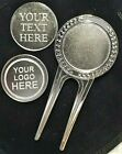 Engraved Golf Ball Marker Divot Tool Personalised Birthday Him Golfers Dad gift