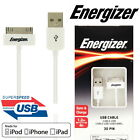 Energizer 30 Pin iPhone 1.2m Sync and Charge Cable for iPhone & iPad