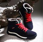 Men's Plus Sz Winter Warm Fleece Lined High Top Lace-up Hiking Ankle Snow Boots