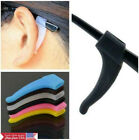 2 pairs(=4pcs) Soft Silicone Anti Slip Ear Hooks for Glasses Eyeglass sunglasses